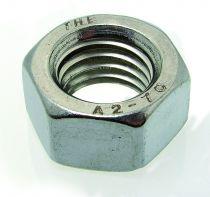 Ecrou héxagonal HU inox A2 - DIN 934