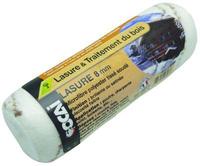 Rouleau microfibre polyester lasure et traitement du bois