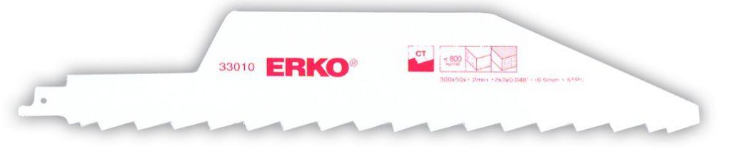 Lames de scie sabre matériaux Erko