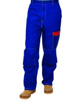 Pantalon bleu ignifuge Fire Fox™