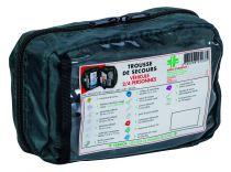 Trousse secours véhicule 2/4 pers. avec ethylotest