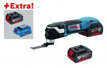 Couteau sans fil GOP 18V-28 - StarlockPlus + 3 batteries et chargeur usb