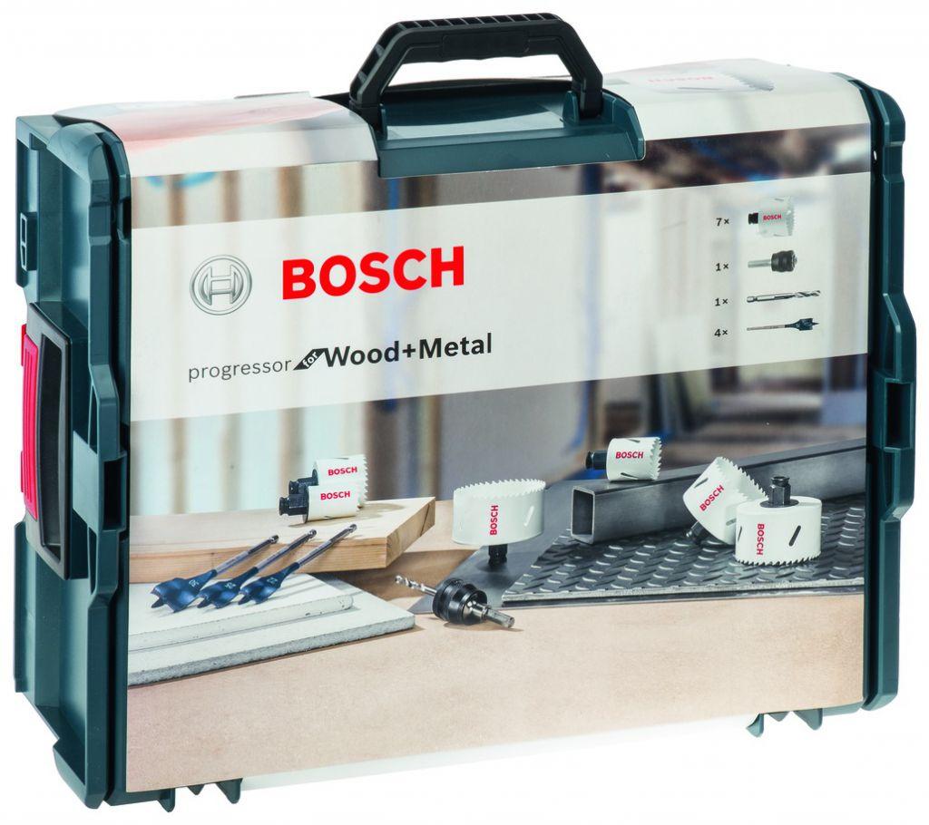 Coffret L-BOXX série Progressor - trépans acier bi-métal