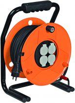 Enrouleur de câble Garant 40 m SP IP44 H07RN-F 3G1,5 avec lampe à énergie solaire