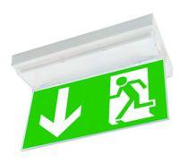 Panneau de signalisation pour bloc sécurite évacuation