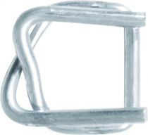 Boucle acier galva pour feuillard textile