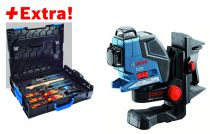 Laser triple GLL 3-80 P Professional + coffret outils Gedore