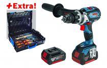 GSR 18 V-EC FC2  + 2 batteries et coffret outils Gedore