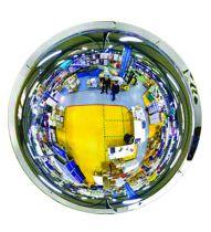 Miroir hémispherique intérieur 360°