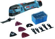 Couteau sans fil GOP 12V-28 / 3 Ah - Starlock + kit accessoires