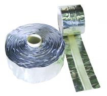 Bande inertage aluminium avec bande plastique et fibre de verre - FIBACK TAPE