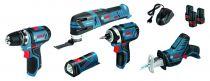 Visseuse GSR - Kit 5 outils 12 V - 2.0 A
