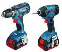 Kit 2 outils 18V-Li - 5.0 A