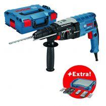 Perforateur marteau GBH 2-28 F - 3.2 Joules + 68 accessoires + i-BOXX + i-Rack