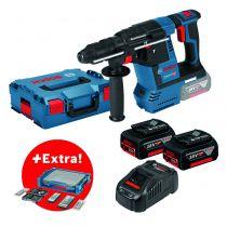 GBH 18V-26 + 68 accessoires + i-BOXX + i-Rack