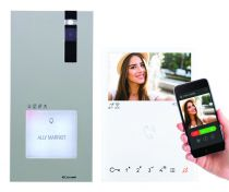 Portier vidéo Quadra - Mini mains libres Wi-Fi