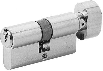 Cylindre à bouton laiton chromé