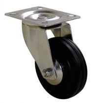 Roulette de manutention roue noire - Port - Roll