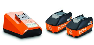 Set HighPower de démarrage 5,2 Ah - 2 batteries Li-Ion + chargeur ALG 50
