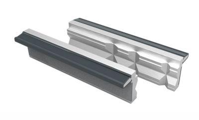 Jeu 2 mors prismatiques aluminium
