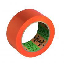 Vynile plastifié 12/100 mm - orange - 6095F - rouleau 33 m