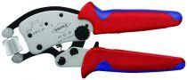 Pince à sertir auto-ajustable pour embouts de câble Twistor16