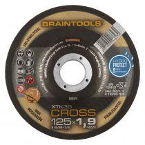 Disque pour machines portatives - XTK35 Cross - acier/inox