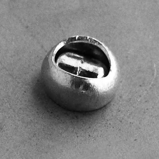 Rivet standard - tête plate normale - alu/tige acier