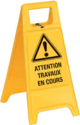 Chevalet de signalisation de danger