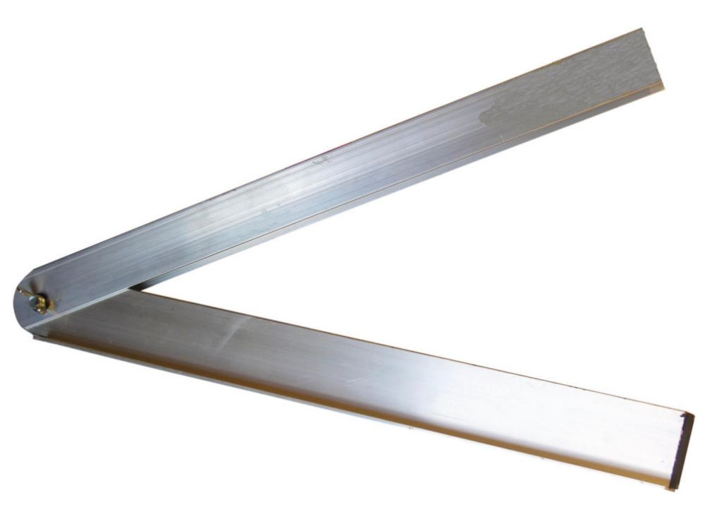 Fausse équerre de plaquiste - aluminium