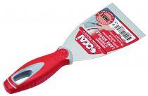 Couteau de peintre manche bi-matière riveté