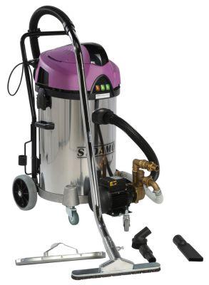 Aspirateurs industriels Sidamo Jet 60i RE - eau et poussières cuve inox