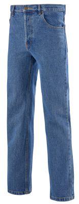 Pantalon jeans Western à boutons