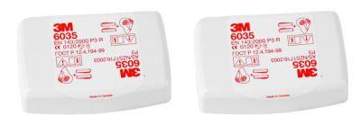 Filtres P3R pour masque 3M™ 6800