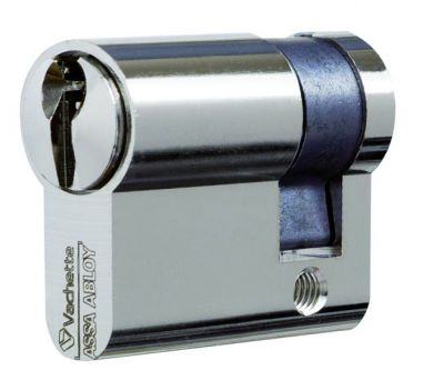 Demi-cylindre nickelé