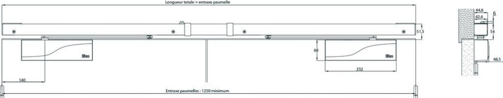 Bandeau linéaire BCS 2000