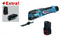 Couteau GOP 12V-28 sans fil - Starlock + 3 batteries et chargeur USB