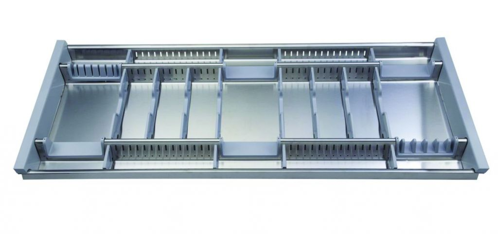 Range-couverts inox - modulable