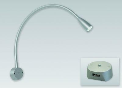 Lampe de lit Legis - blanc chaud - 12 V