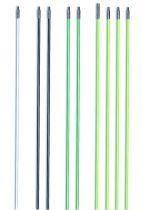 Aiguille fibre de verre gainée
