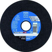 Disque pour machines portatives - EHT 125-1,0 A60 R SG-inox