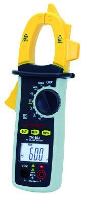 Pince ampèremétrique 600 A AC - Multimetrix - CM 603