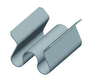 Clips de coude CLF pour chemin de câbles fil
