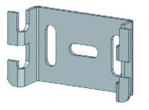 Fixation laterale pour chemin de câbles fil