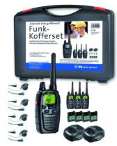 Pack 4 Talkies-walkie Midland G7 Pro + oreillettes plates