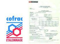 Clé dynamométrique à cliquet amovible S.306A + certificat d'étalonnage COFRAC