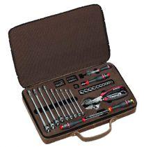Coffret cuir maintenance 48 outils - 100 ans