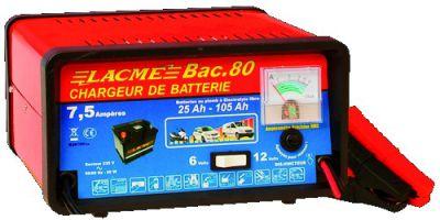 Chargeur de batterie classique, 7,5 A - BAC 80
