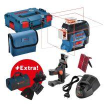 Laser lignes GLL 3-80 C + set hiver + sac à outils