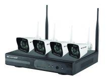 Kit vidéo surveillance IP Wifi - WIKIT080A